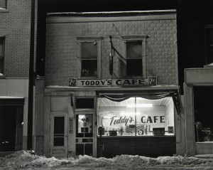 Toddy's Cafe, North Minneapolis, MN, 1964